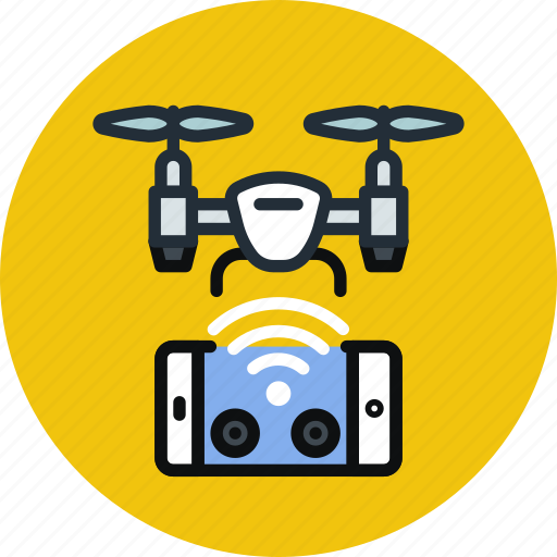 airdrone, control, copter, drone, flying, quadcopter, remote icon