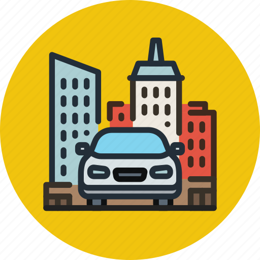 Car, city, transport, urban icon - Download on Iconfinder