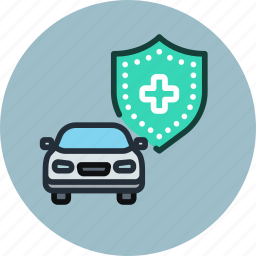 alarm, car, insurance, secure, shield, system, transport icon