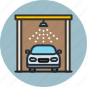 auto, car, service, transport, wash icon