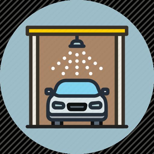 auto, car, service, transport, wash icon