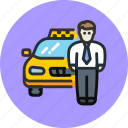 car, driver, taxi, transport