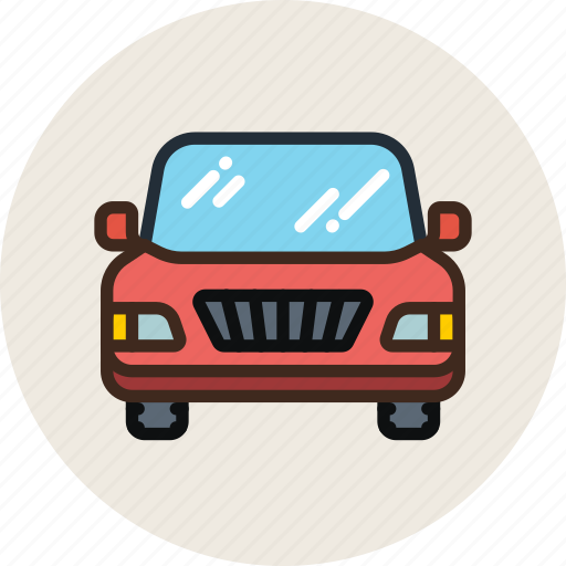 auto, car, front, piclup, transport, vehicle icon
