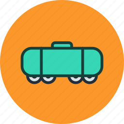 railroad, tank, train, vehicle, wagon icon