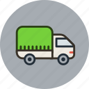 logistic, tilt, transport, truck, vehicle icon