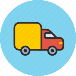 logistic, transport, truck, vehicle icon