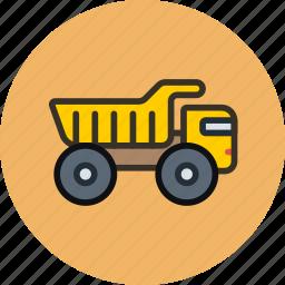 belaz, coal, engine, equipment, industrial, king, truck icon