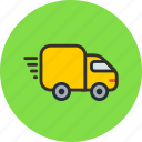 delivery, transport, truck, logistics