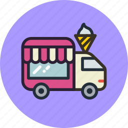 car, mobile, shop, shopping, transport, wheels icon