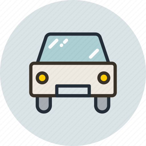 car, passenger, sign, transport icon