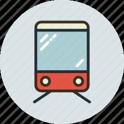 sign, train, transport, vehicle icon