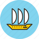 argosy, keel, sailfish, ship icon