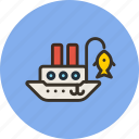 fisherman, marine, nautical, ship, vessel icon