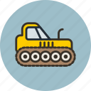 agrimotor, caterpillar, construction, industrial, tractor