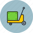 construction, equipment, forklift, industrial, pump, pumptruck, truck icon