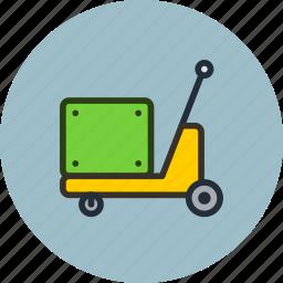 construction, equipment, forklift, industrial, pump, pumptruck, truck icon