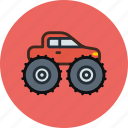 car, monster, truck, wheels icon