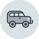 car, expedition, jeep, transport, vehicle icon