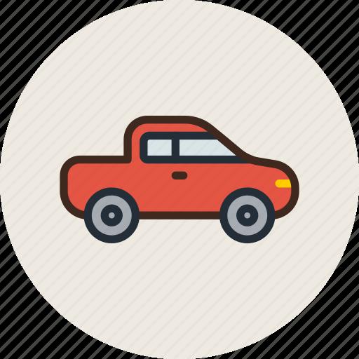 car, farmer, jeep, logistic, pickup, transport, vehicle icon