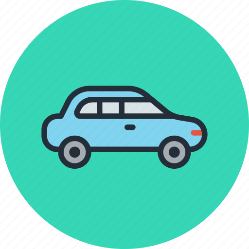 car, sedan, transport, vehicle icon