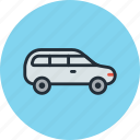 car, estate, transport, trip, vehicle icon