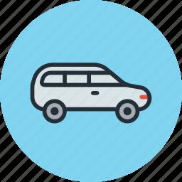 car, estate, transport, trip, vehicle icon