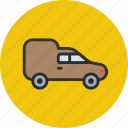 car, transport, van, vehicle icon