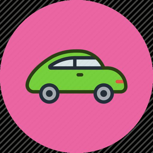 beetle, beetlecar, car, retro icon