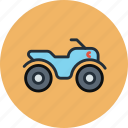 atv, extreme, safari icon