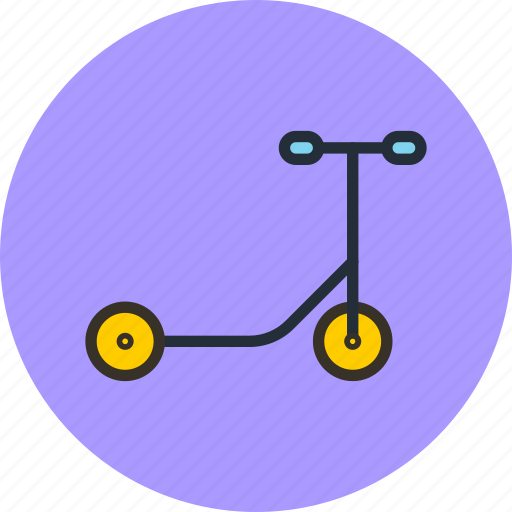 child, samokat, scooter, sport, transport icon
