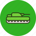 cannon, military, panzer, tank icon