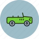 car, hummer, jeep, military, uaz icon