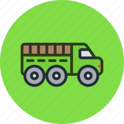 car, military, truck, vehicle, war icon