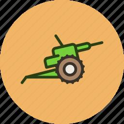 cannon, gun, military, war icon