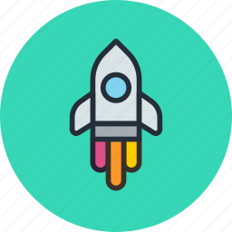 game, missile, rocket, space icon