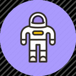 astronaut, cosmo, cosmonaut, icojam, space, suit icon