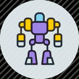 exoskeleton, future, robot, space icon