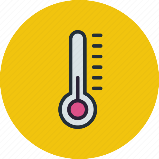 control, indicator, monitoring, temperature, thermometer, weather icon