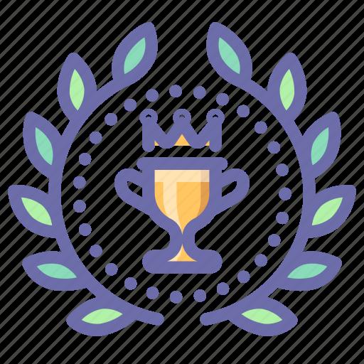 achievement, award, cup, win icon