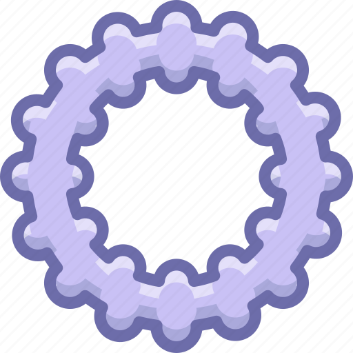 baby, teether icon