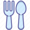 baby, fork, spoon