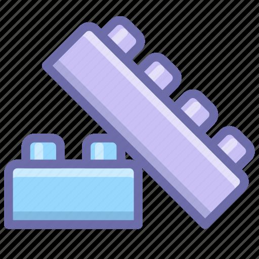 blocks, bricks, building block, constructor icon