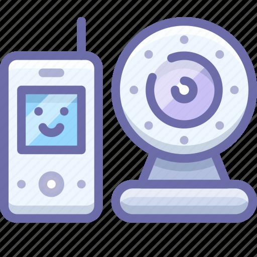 Baby, camera, monitor, radio icon - Download on Iconfinder