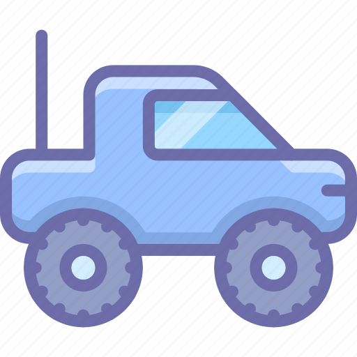baby, toy, truck icon