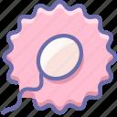 father, fertilization, mother, ovum, sperm icon