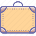 briefcase, luggage, suitcase icon