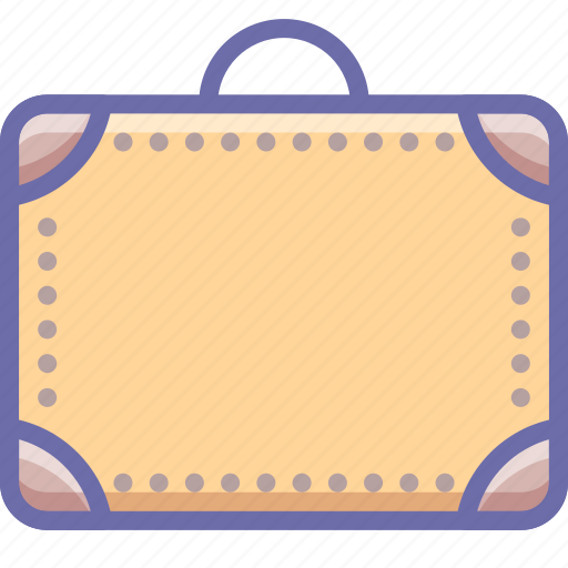 briefcase, luggage, suitcase icon