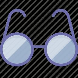glasses, read, view icon