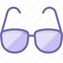 glasses, read, view icon