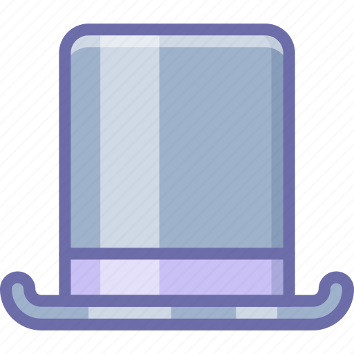 fashion, hat, top, tophat icon